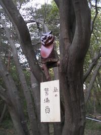 長谷川さん「森の警備員」