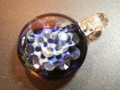 妖艶ガラス 『星雲』 と 『惑星の爆発』