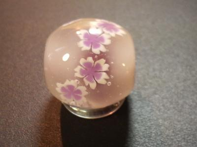 とんぼ玉 『桜』