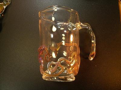 妖艶ガラス 『ガラスのコップの試作』