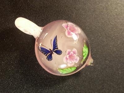 ガラス細工 『春に舞う』