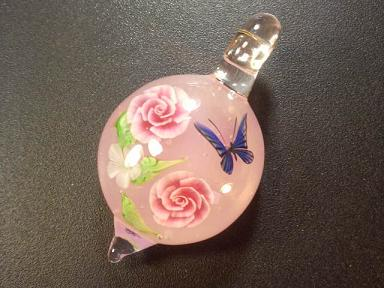 ガラス細工 『薔薇のガーデン』
