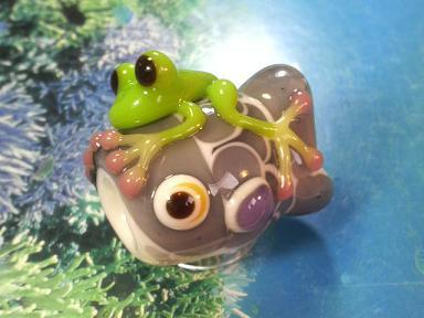 とんぼ玉 『かえるの鯉のぼり』 全匹集合