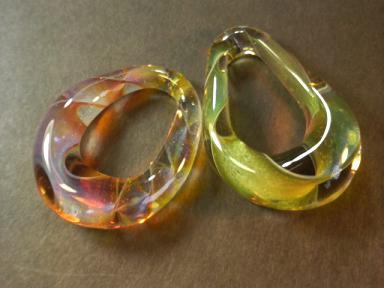 妖艶ガラス 『螺旋の輪』