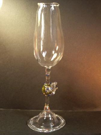 妖艶ガラス 『かえるノージンググラス 試作』