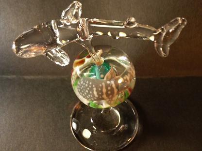 ガラス細工 『美ら海の装飾』
