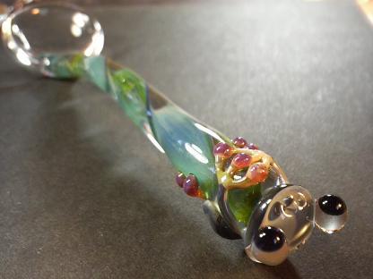 妖艶ガラス 『かえるのスプーン』