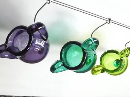 ガラス細工 『チビぶら瓶』