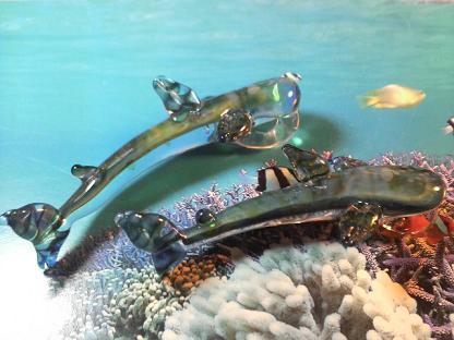 妖艶ガラス 『ジンベエザメ』