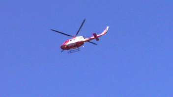 あっ赤とんぼ!・・・ヘリコプター