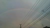 輝いて・・・虹