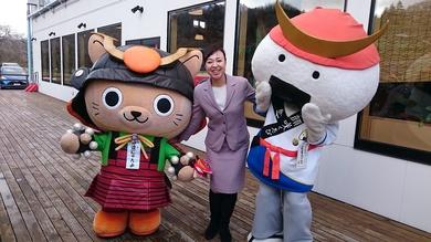 宇和島市長がご来館!