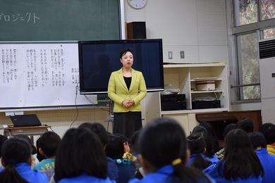 復興プロジェクトin湯元小学校