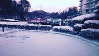 雪景色の緑水亭 2017/12/28 16:31:17