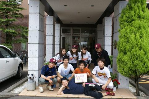 弘前大学医学部準公式野球部様にご宿泊いただきました!