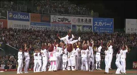 クライマックスステージ第4戦、日本シリーズ進出決定!!!