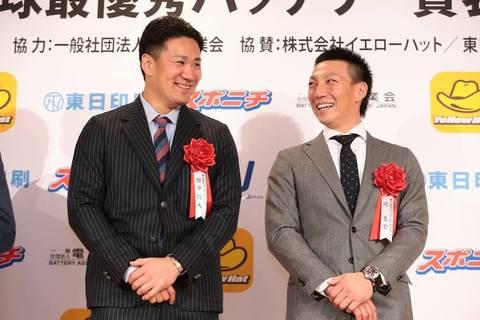 【2013プロ野球最優秀バッテリー賞】受賞!