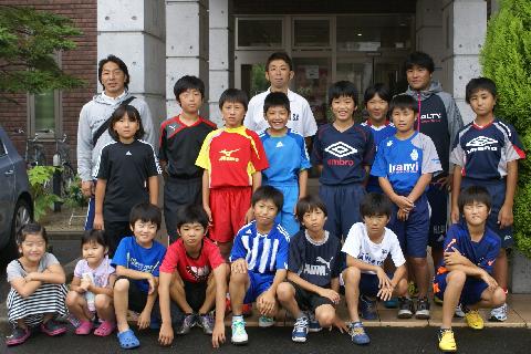 東伊興サッカースポーツ少年団様にお越しいただきました!