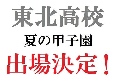 夏の甲子園宮城代表決定!