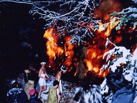 【柳沢の焼け八幡】が開催されます