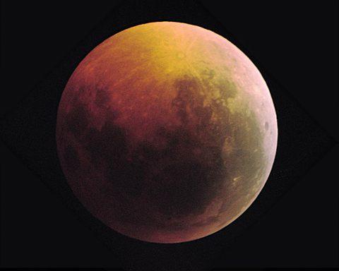 明日、皆既月食!