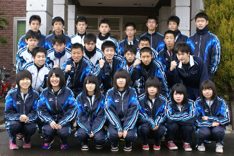 秋田県立増田高校陸上部様にご宿泊いただきました