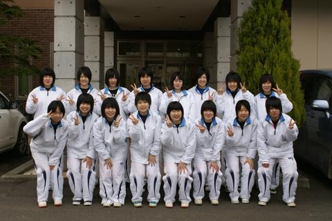 秋田聖霊女子短期大学付属高校女子バスケットボール部様にご宿泊いただきました!