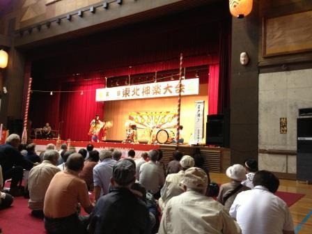 今日は白露。そして、明後日【第68回東北神楽大会】が開催されます