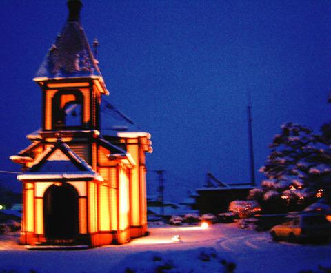 【金成ハリストス正教会 冬のライトアップ】が開催されます