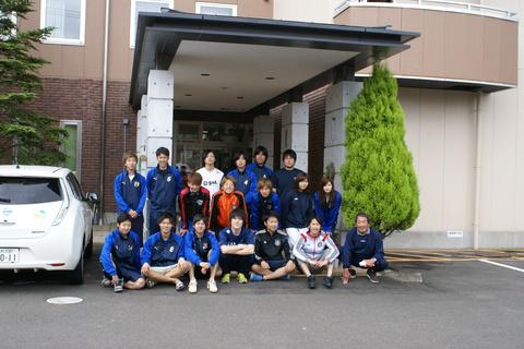 青森中央学院大学サッカー部様の皆様にご宿泊頂きました!!