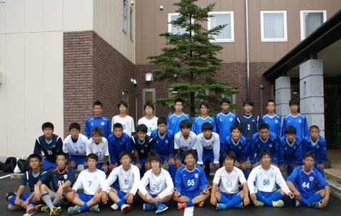 東京都立駒場高等学校サッカー部の皆様にご宿泊いただきました