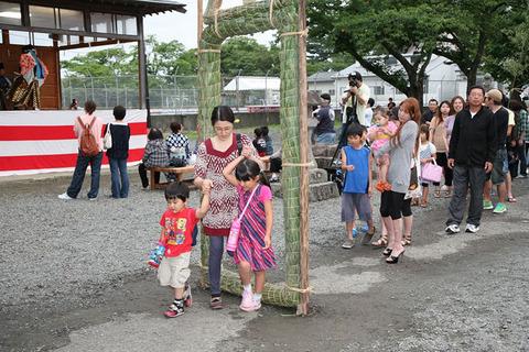 【吉岡八幡神社大祓い 夏越の輪くぐり】が開催されます