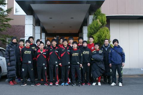 長井工業高校サッカー部の皆様にご宿泊頂きました!!