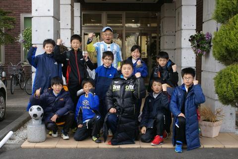 江釣子フットボールクラブの皆様にご宿泊頂きました!!