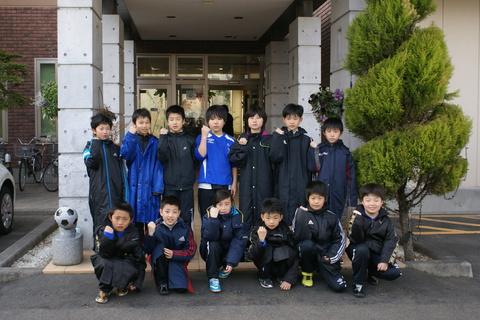 外旭川サッカースポーツ少年団様にご宿泊頂きました!!