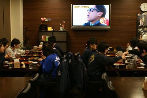 花巻東高校・北越高校バレーボール部の皆様にご宿泊頂きました!!
