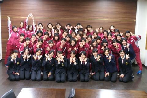 祝(^O^)9度目の優勝!!立命館大学女子陸上競技部様にご宿泊頂きました!!