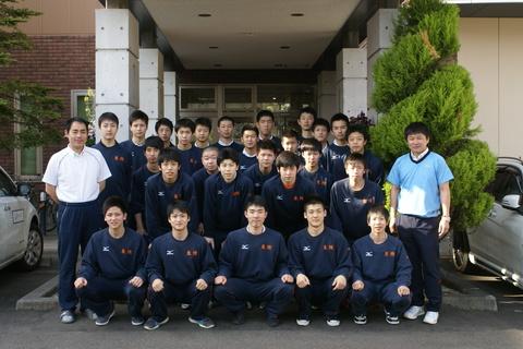 東陵高校バレー部の皆様にご宿泊頂きました!!
