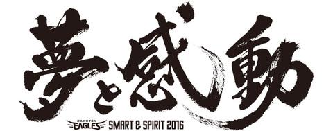 チームスローガン【Smart&Spirit 2016 夢と感動】