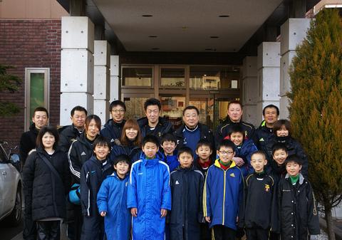 沼田北辰サッカースポーツ少年団様に御宿泊頂きました