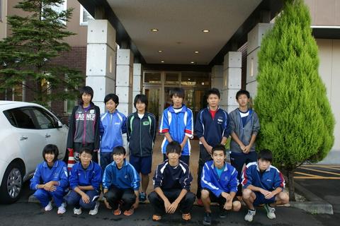 県選抜リレーチームの皆様にご宿泊頂きました!!