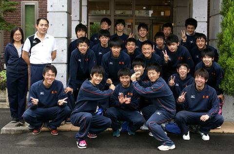東陵高校バレー部の皆様にご宿泊いただきました!