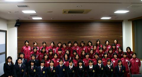 立命館大学女子陸上競技部様に御宿泊いただきました