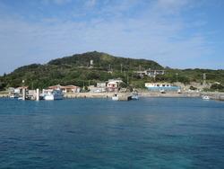 沖縄有数のパワースポット、大神島