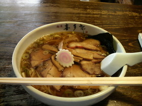 久しぶりのラーメン・・・麺屋喜多郎