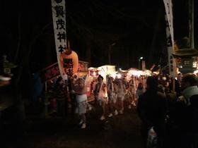 小正月・どんと祭・・・賀茂神社
