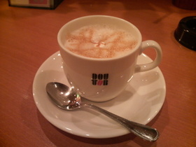 ほっとしたので・・・ドトールコーヒー