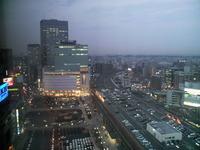 暮れなずむ街・・・仙台駅前