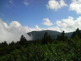 雲と山と風と・・・宮城蔵王