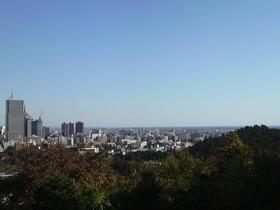 青空!・・・青葉山